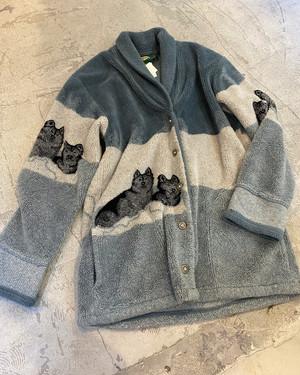 vintage fleece jacket made in USA
