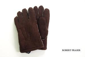 ロバートフレイザー|Robert Fraser|スエード手袋|グローブ