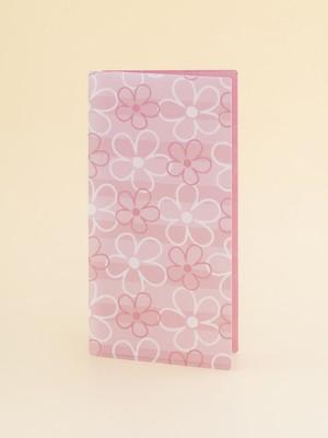 抗菌マスクケース(LIMEX製)フラワー・ピンク