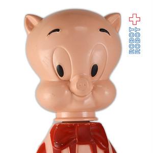 ポーキーピッグ 赤 ソーキー シャンプーボトル