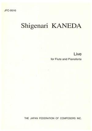 K29i99 Live(Flute and Pianoforte/S. KANEDA /Full Score)