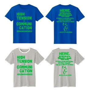 ハイテンションなコミュニケーションツアーTシャツ