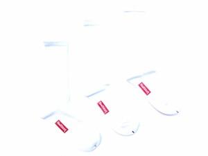 Healthknit ヘルスニット 3P SOX 3パック ソックス ホワイト