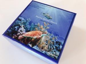 神経衰弱カードゲーム 海の動物メモリーマッチ 【 Marine Animal Match】英単語記憶に!