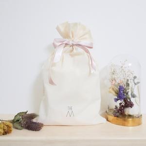 【THE M】オリジナルギフト巾着 (小)