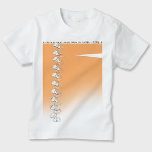 キッズTシャツ PiNMeN(チェイン)オレンジ