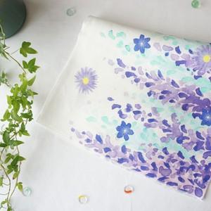 316 手拭い Fuji Lila(紫の藤の花)