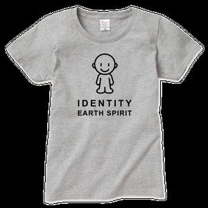 IDEAS/アイコンTシャツ 701W-GR-レディース