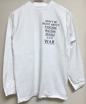 Don't Tee 長袖 ホワイト