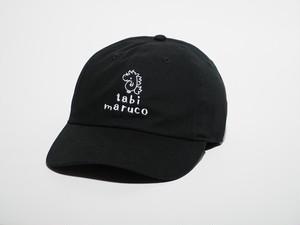 【tabi maruco】の帽子(BLACK)(送料込み)