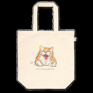笑い猫トートバッグ