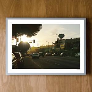 "December, November, POSTER ""Figueroa St, Los Angeles, CA"""