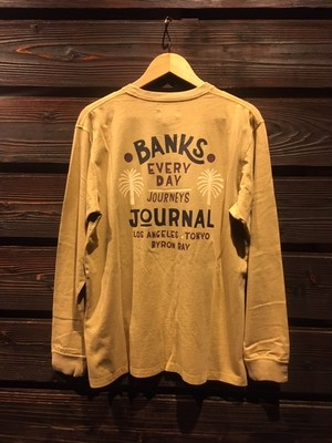 Banks Journal HOLIDAY L/S TEE SHIRT Beige  Mサイズ SMLS0001