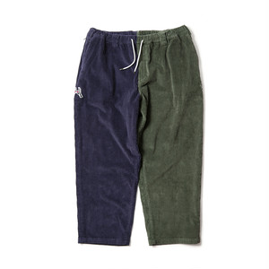 TIGHTBOOTH KILLERBONG CYBORG CORD PANTS NAVY×OLIVE