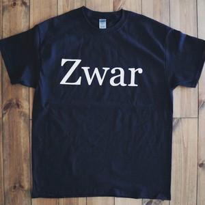 """""""Zwar"""" Tシャツ ブラック"""