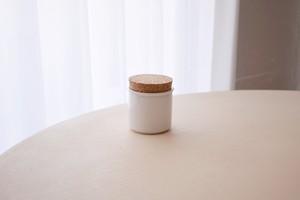 Hoganas Keramik stoneware jar white