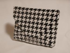 クラッチバッグ シルク(正絹)製 千鳥 ホログラム
