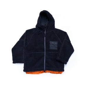 Plump Boa Hooded Blouson