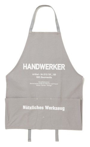 CANVAS APRON ( HANDWERKER ) GRAY
