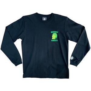 【YBC】RUGBY SKULL 2Color LongT-Shirt Black