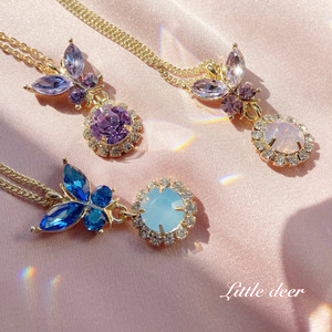 butterfly necklace b0350