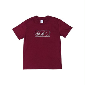 scar /////// OG KIDS TEE (Burgundy) 6.2oz