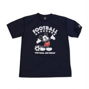 Mickey Mouse コラボ プラシャツ gramo「ONE TEAM」(ネイビー/P-048) ※XS~Lサイズ