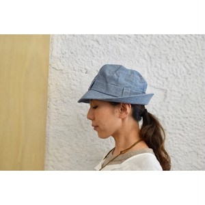 Simva141-0017 Chambray Safari Hat