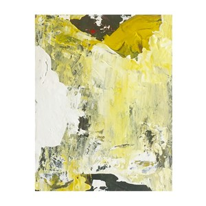 title: abstract painting (yellow savage flower II) tmap-008