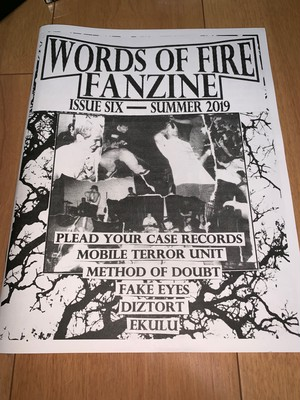 words of fire fanzine #6