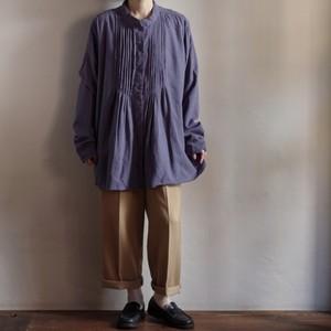 Linen Tunic Shirt / リネン チュニック シャツ