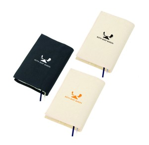 """Logo"" Book Cover  Color : Natural / Black"