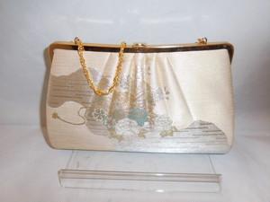 佐賀錦ビィンテージバック Saga obi fabric vintage bag (made in Japan)(No9)