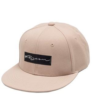 BOX LOGO FLATVISOR CAP[REH069]