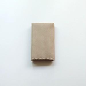 flat cardcase - white beige - ALASKA