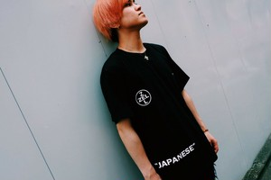 Zel Street Luxury T-Shirt BLACK 【TS-003】 黒 半袖