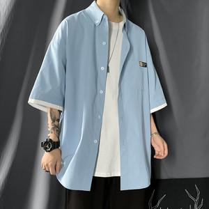 オーバーサイズレイヤードシャツ