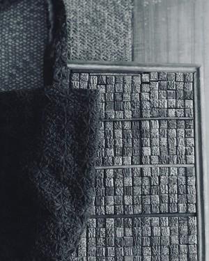 eavamの刺繍バッグ:マリ/黒(S) yeb mali/black(S)