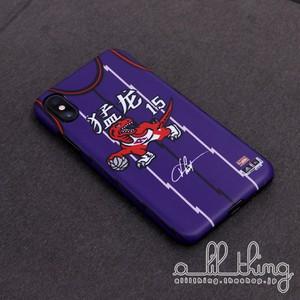 「NBA」トロント ラプターズ 2019 Chinese New Year スペシャル ジャージ テーマケース iPhoneX iPhone8 ケース