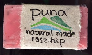 【puna soap】 rose hip