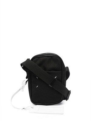 MAISON MARGIELA CORDURA/LEATHER;NEW MINI CAMERA BAG Black S55WG0119