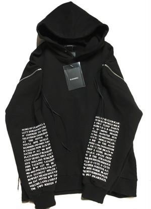 blackmerle / Tzera zipper hoodie