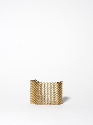Honeycomb Structure Bangle / Mignon Faget
