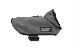 All Weather Dog Jacket / Charcoal (M)