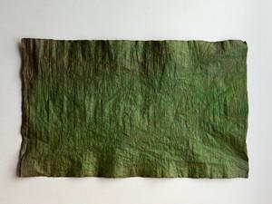 柿渋和紙 緑