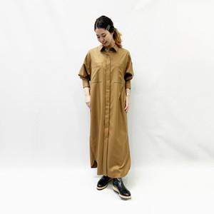SACRA(サクラ) ウィンシーツイルワンピース 2020秋物新作[送料無料]