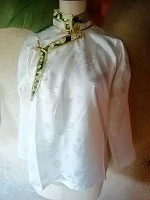 商品番号ts-06チベット民族シャツ:男女兼用(size:S)