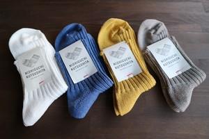 リネンリブソックス NISHIGUCHI KUTSUSHITA 西口靴下 <日本製・奈良>