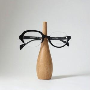 家具職人が作ったオークの眼鏡スタンド[大]