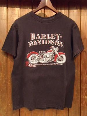 Vintage★【HARLEY- DAVIDSON】<DOUG'S choppers kc mo&SKULL> Tee